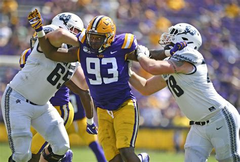 Justin Thomas leaves LSU football team, Ed Orgeron says ...