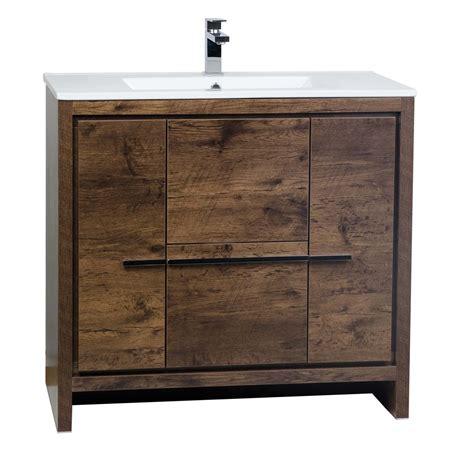 modern bathroom vanities buy cbi enna 36 inch rosewood modern bathroom vanity tn