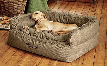 comfortfill couch dog bed orvis comfortfill couch dog