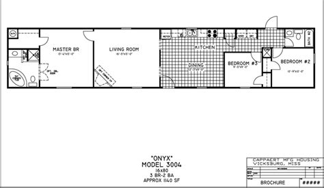 16x80 Mobile Home Floor Plans by Mobile Home Floor Plans Bestofhouse Net 38113