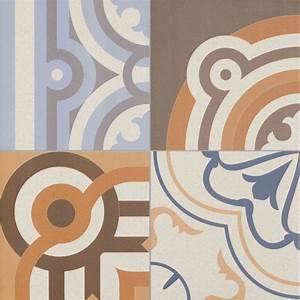 Faux Carreaux De Ciment : carrelage sol ou mur style ancien patchwork 44x44 cm l ~ Premium-room.com Idées de Décoration