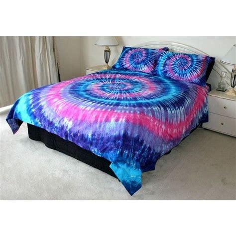 pink purple blue tie dye queen quilt cover set 500tc lux
