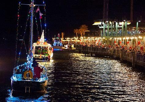 Boat Lights In Kemah by Cupids Boat Parade At Kemah Boardwalk Kemah