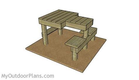 shooting bench plans myoutdoorplans
