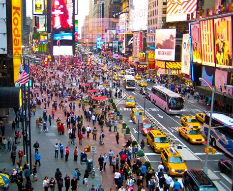 Times Square New York Travelling Moods