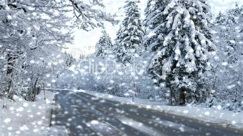 Im Winter by Stra 223 E Im Winter Mit Schneefall Winter With Snow