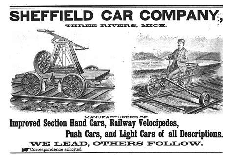 sheffield handcar brochure