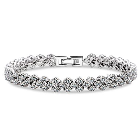 The 19 Best Designs Of Diamond Tennis Bracelet. Cool Wedding Rings. American Flag Rings. Unusual Necklace. Bangal Bracelet. Christmas Brooch. Small Diamond Band Ring. Curved Stud Earrings. Vampire Engagement Rings