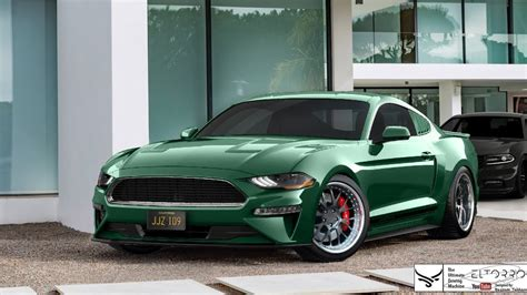 2018 Ford Mustang Bullitt Engine Photos
