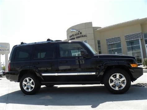 jeep limited 2006 jeep commander limited houston mitula cars