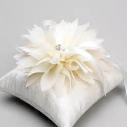 diy wedding album ivory ring pillow white ring bearer pillow flower basket set