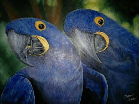 Arara Azul  Dl Arte Pro Elo7