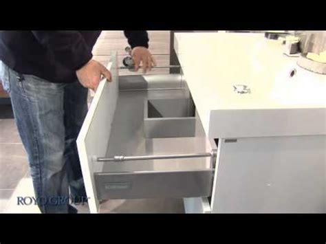 facade tiroir metallique avec glissieresg youtube