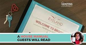 A House Manual Guests Will Read