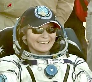 Astronaut Peggy Whitson Ends Record-Breaking Space Mission ...