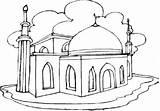 Coloring Pages Mosque Eid Masjid Mubarak Colouring Happy Getdrawings Printable Sheets Ramadan Getcolorings Pdf Info sketch template