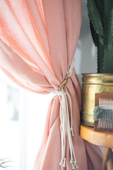 diy curtain tieback ideas  dont  cheap diy