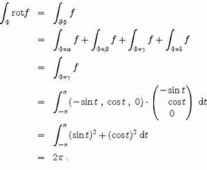 Oberflächenintegral Berechnen : mathematik online lexikon ein oberfl chenintegral ~ Themetempest.com Abrechnung