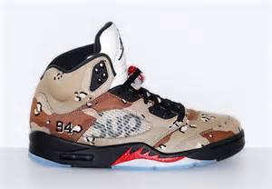 Supreme Camo Air Jordan 5
