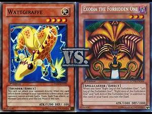 yugioh watt vs exodia january 2014 youtube