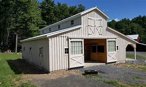 horse barns amish built pa nj md ny jn structures With amish built horse barns