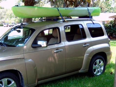 roof rack hhr rails chevy sit blocks foam sort those must something looks right they