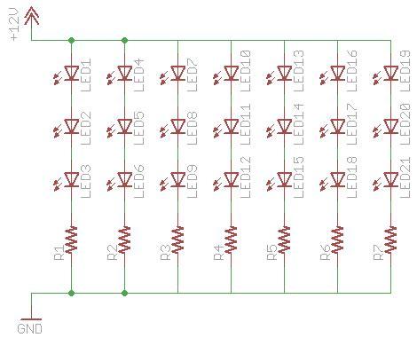 resistors    leds       circuit electrical engineering stack exchange