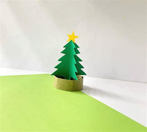 fun  easy  paper christmas tree craft  kids