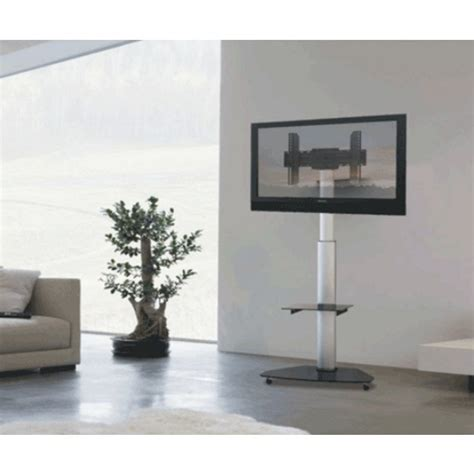 Mensole Per Tv Supporto A Pavimento Con Mensola Tv Lcd Led Plasma 37 70