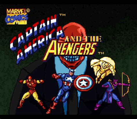 Captain America And The Avengers Game Giant Bomb
