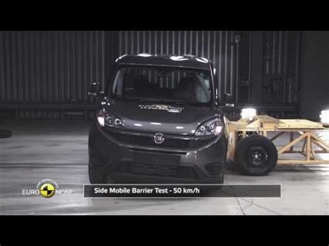 Fiat Assessment by Euroncap Tests Fiat Doblo It Gets Three Out Of Five