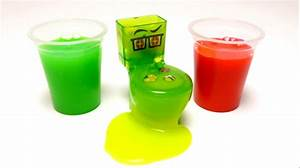 Toy Slime with Surprise Toys - Toilet Potty WC (Hello ...