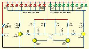 100 Led Christmas Lights Circuit Diagram