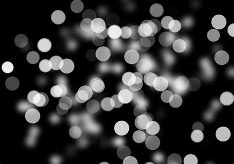 bokeh   focus black white background light stock