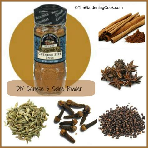 five spice chinese five spice powder make your own diy
