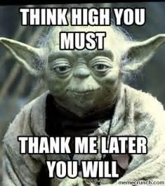 Yoda Meme Maker - yoda thanks