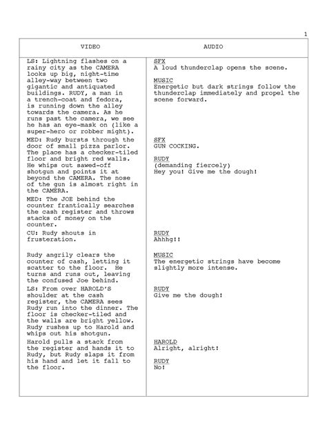 Tv Script Template For Pages by Commercial Script Template Playbestonlinegames
