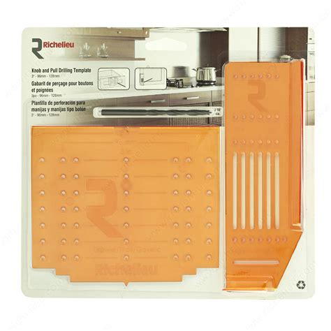 Richelieu Cabinet Hardware Template by Knob And Pull Drilling Template Kit Richelieu Hardware