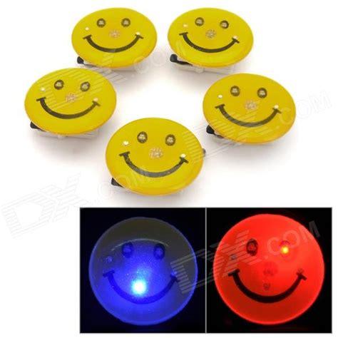 test ordinateur de bureau smiley rvb clignotant led 3 broche badge jaune 5