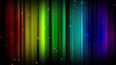 Rainbow Lines Pattern Particles Multicolor Motion