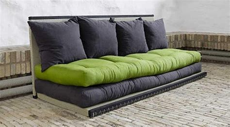 canapé futon convertible style et matériels des futons astuces bricolage
