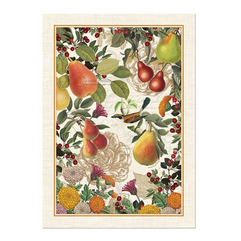 michel design works kitchen towel michel design works kitchen towel golden pear 9159