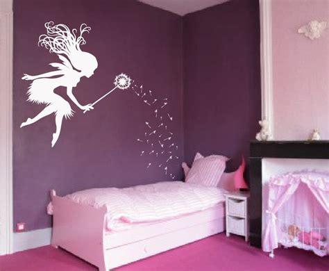 Fairy Dandelion Wand Wall Decal Nursery Kids Room Tale