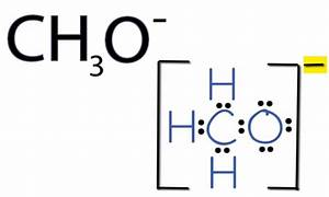 CH3O- Lewis Structure: How to Draw the Lewis Structure for ...