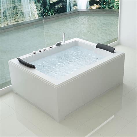 vasche da bagno doppie vasca idromassaggio 180x141 optional 32 getti