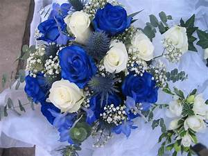 Beautiful blue wedding flowers ipunya for Flower ideas for wedding