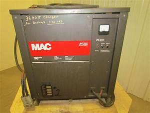 Mac 18m725cxv Industrial Forklift Battery Charger 36v 725