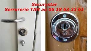 tutoriel changer de serrure securystar cylindre With changer cylindre serrure