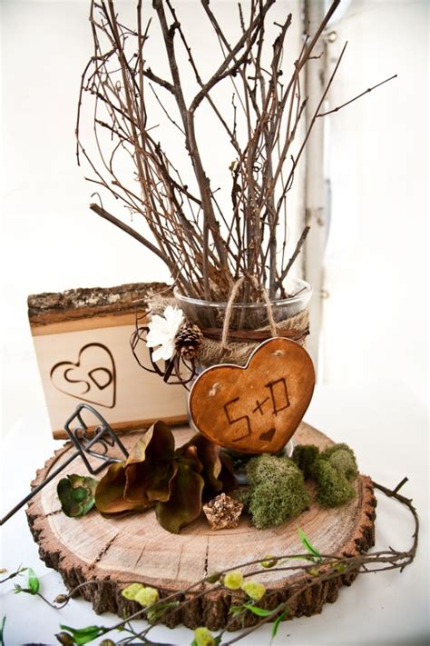 Wood Wedding Centerpieces The Wedding SpecialistsThe