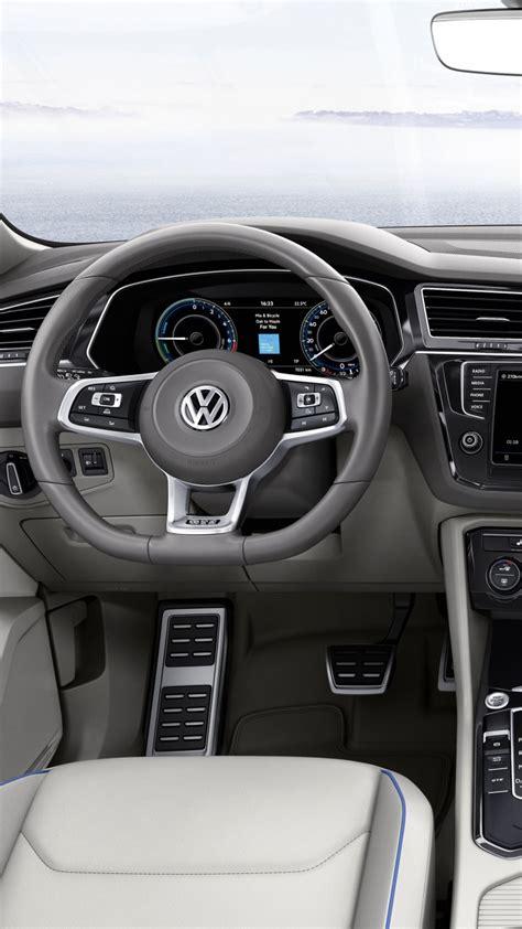 wallpaper volkswagen tiguan gte concept interior cars